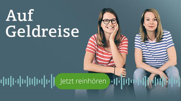 Logo-Bild: Podcast Auf Geldreise mit Anika und Anja