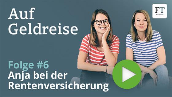 Anika und Anja – die Finanztip-Podcasterinnen.