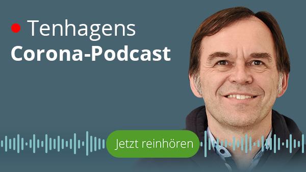 Logo-Bild: Tenhagens Corona-Podcast
