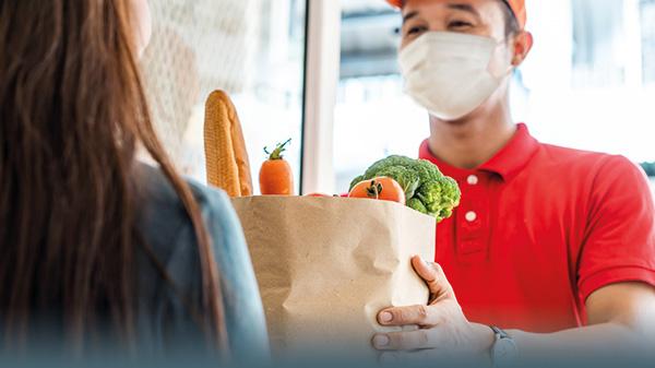 Lebensmittel liefern lassen: Das sind Ihre Rechte