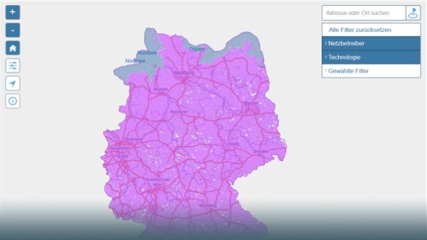 Handy-Atlas: Mit dieser Karte findest Du das beste Netz für Deinen Wohnort