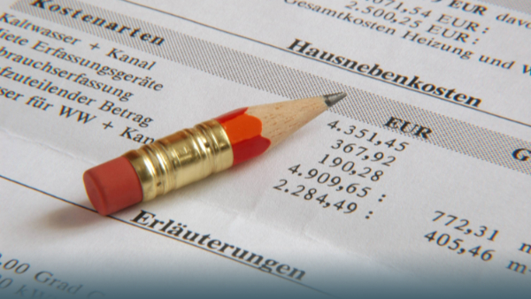Schon wieder Nebenkosten nachzahlen? So prüfst Du die Abrechnung für Deine Wohnung!